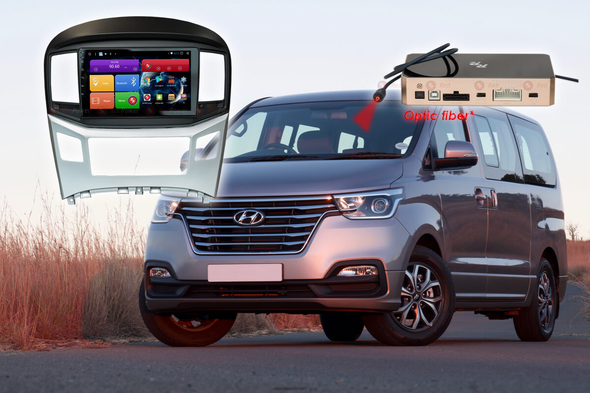 Головное устройство Android Hyundai Starex H1 RedPower 31214 R IPS DSP