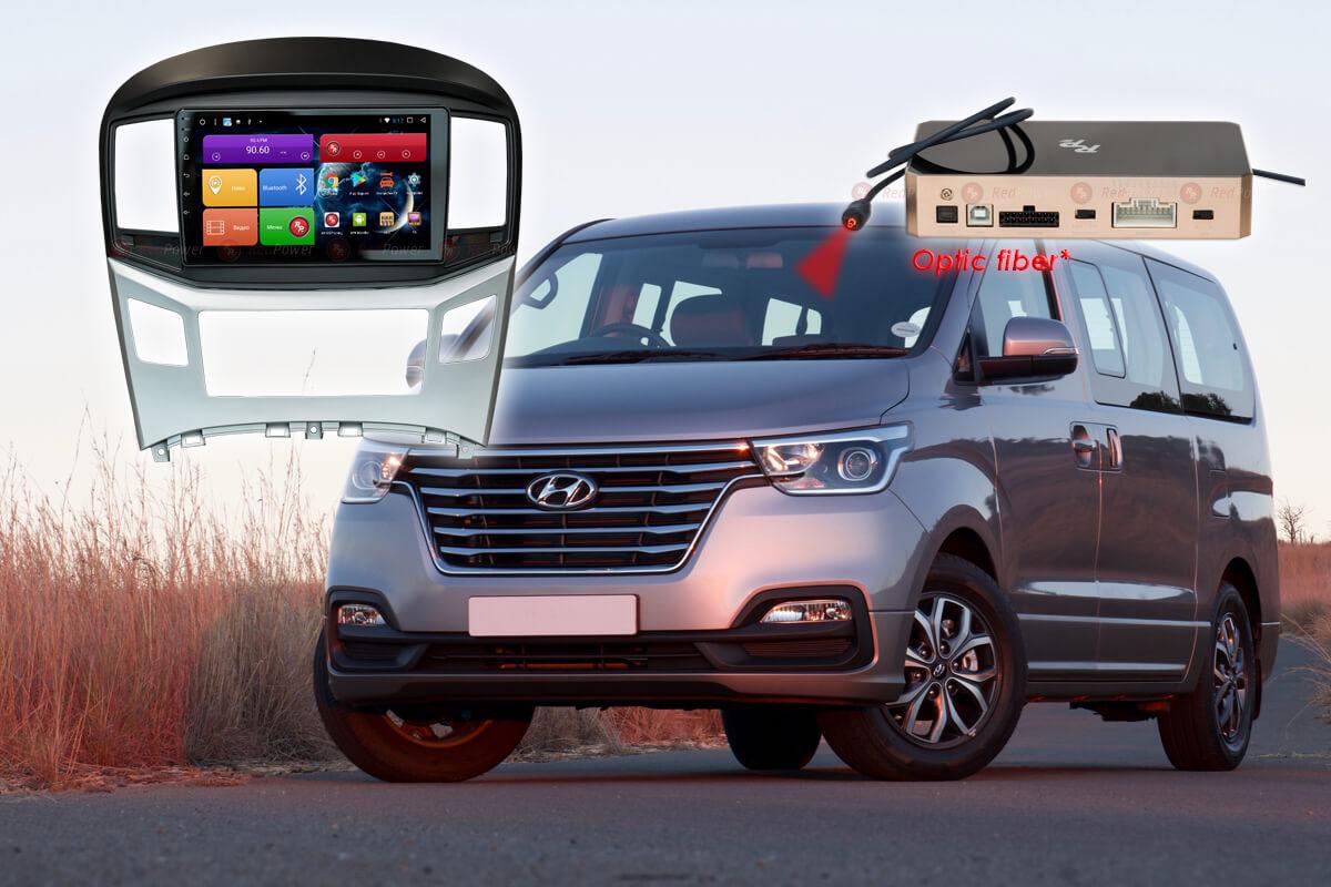 Головное устройство Android Hyundai Starex H1 RedPower 51214 R IPS DSP