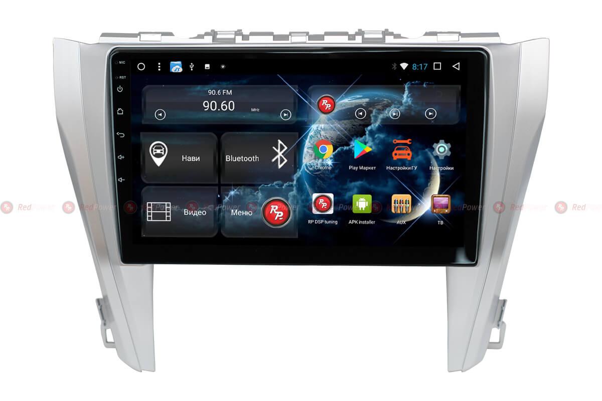 Головное устройство RedPower 31231 R IPS DSP на Toyota Camry V55