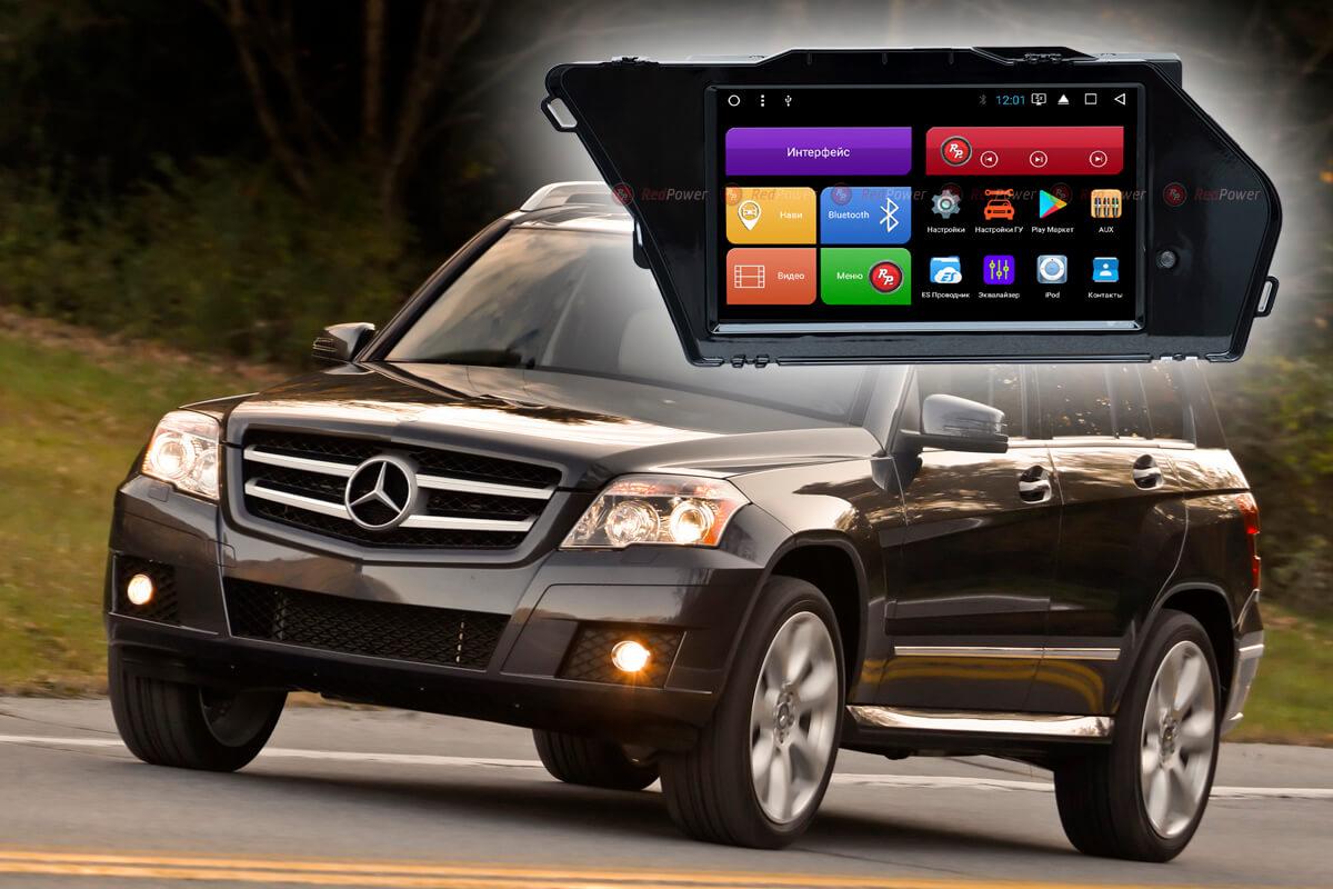 Магнитола Mercedes Benz GLK
