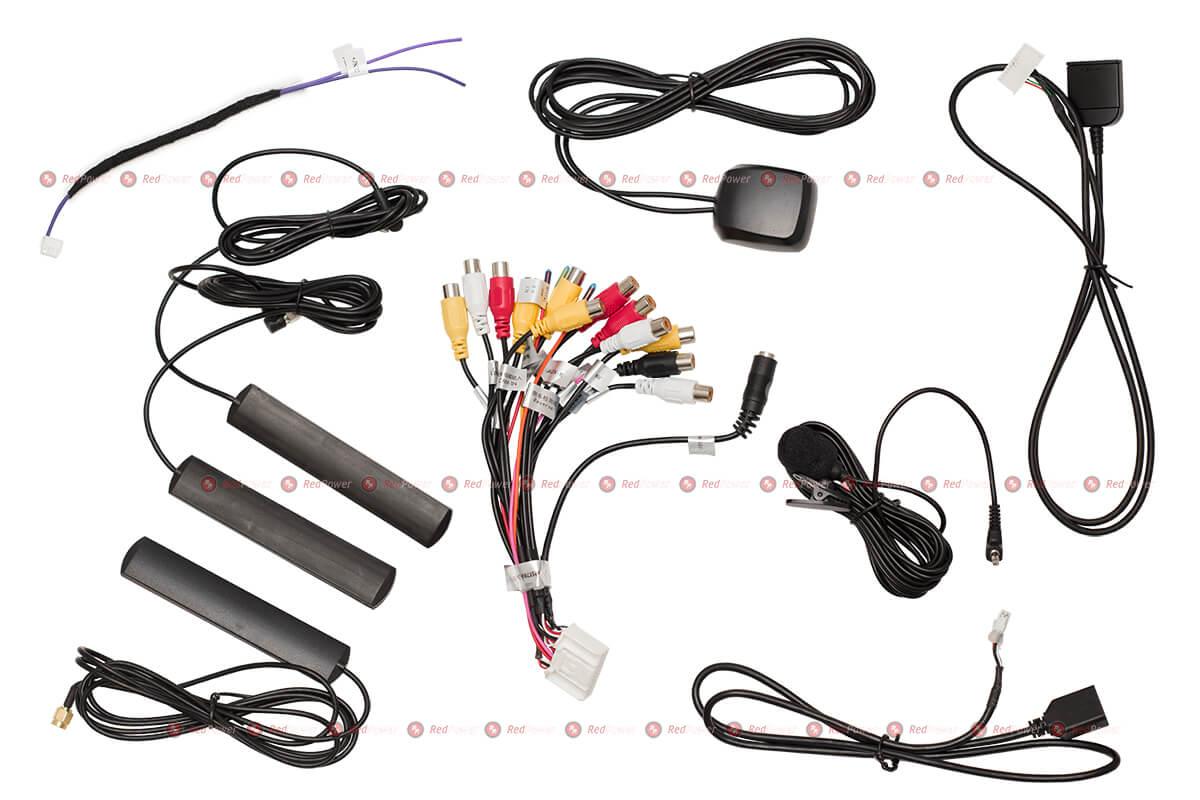 Комплект проводов в 510 серии магнитол redpower