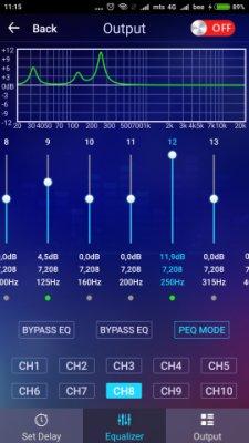 Усилитель с процессором RP DSP 5.1