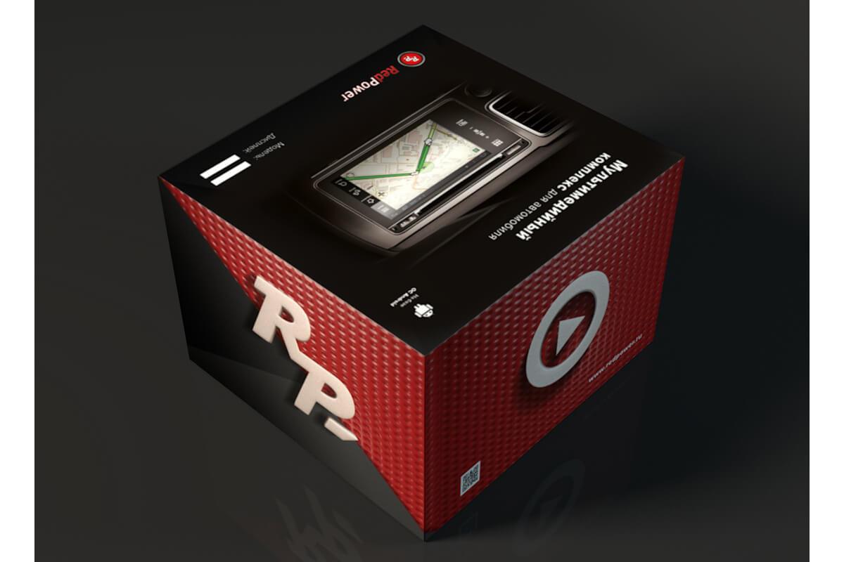 Оригинальная упаковка Redpower должна выглядеть вот так