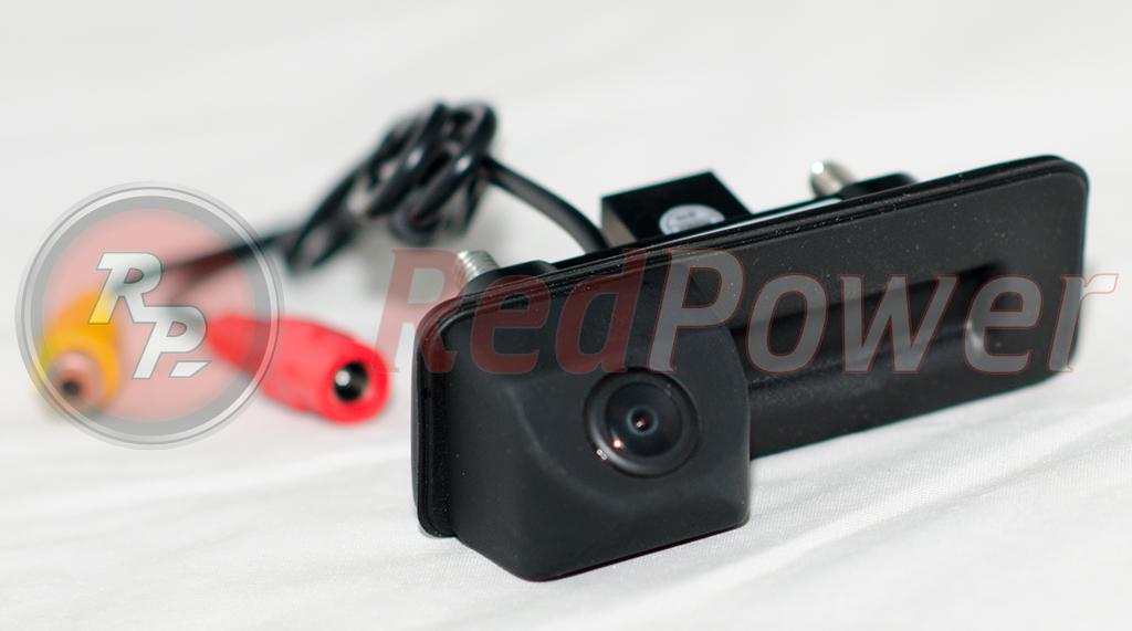 автомобильная камера в ручку на Аудиб Шкода