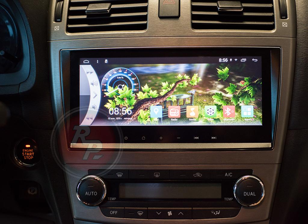 Toyota Avensis Redpower 21187B  головное устройство штатное