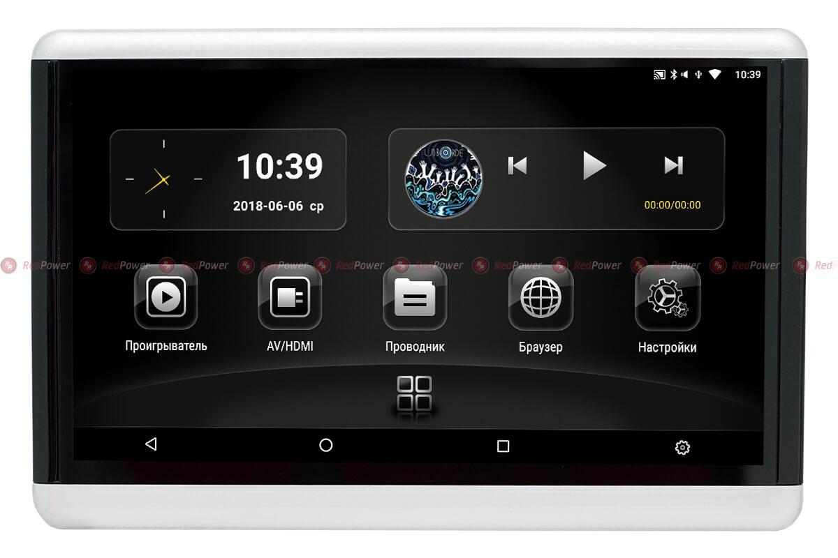 мониторы Android для задних пассажиров