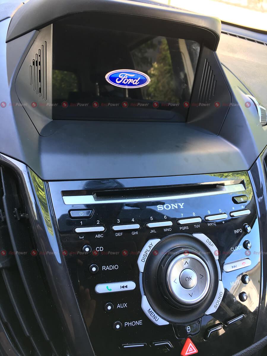 Установка магнитолы RedPower 31151 IPS DSP на автомобиль Ford Kuga