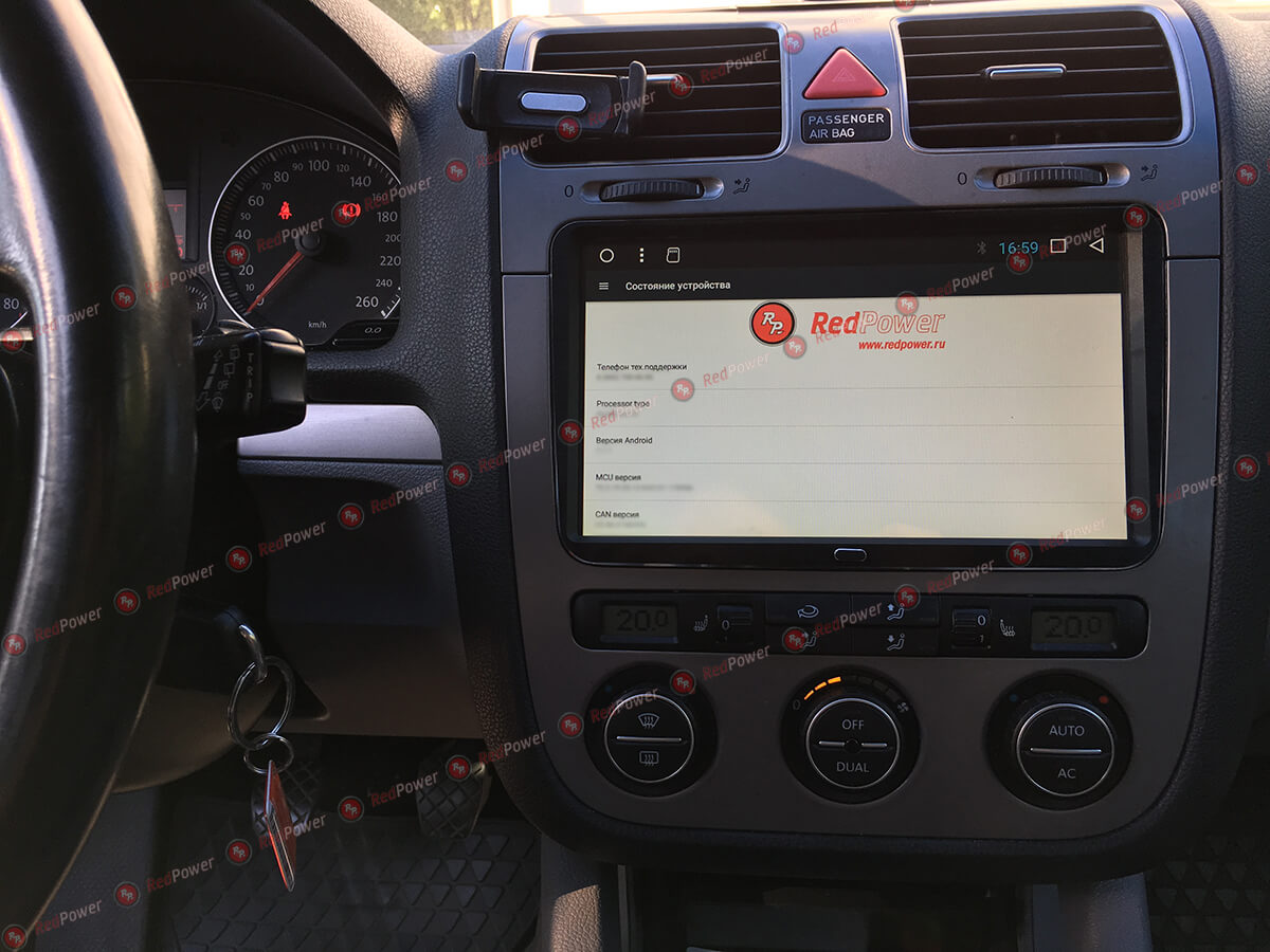 Установка магнитолы RedPower 31004 IPS 9 дюймов на автомобиль