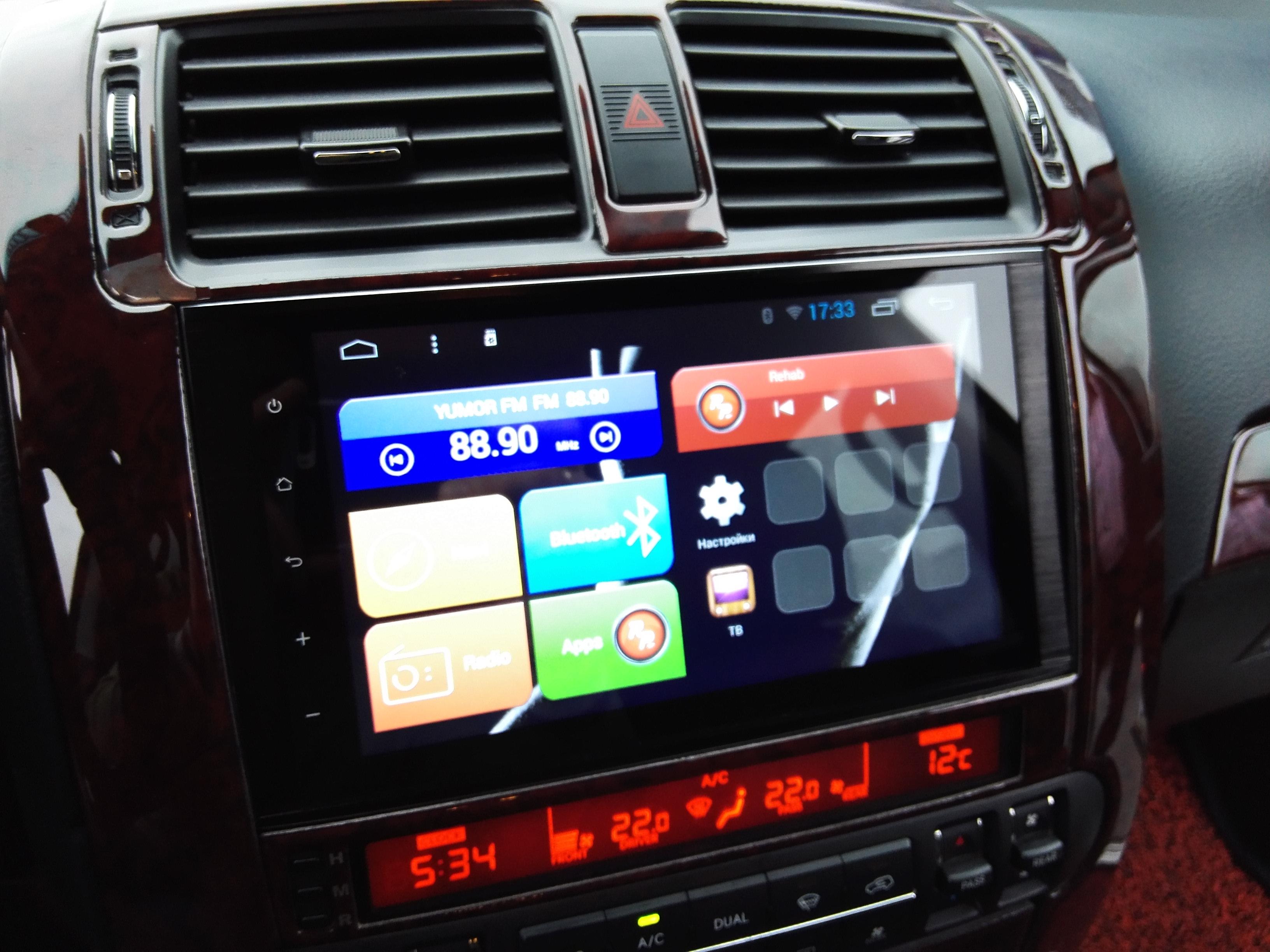 Автомагнитолы Redpower 31222 IPS в автомобиле