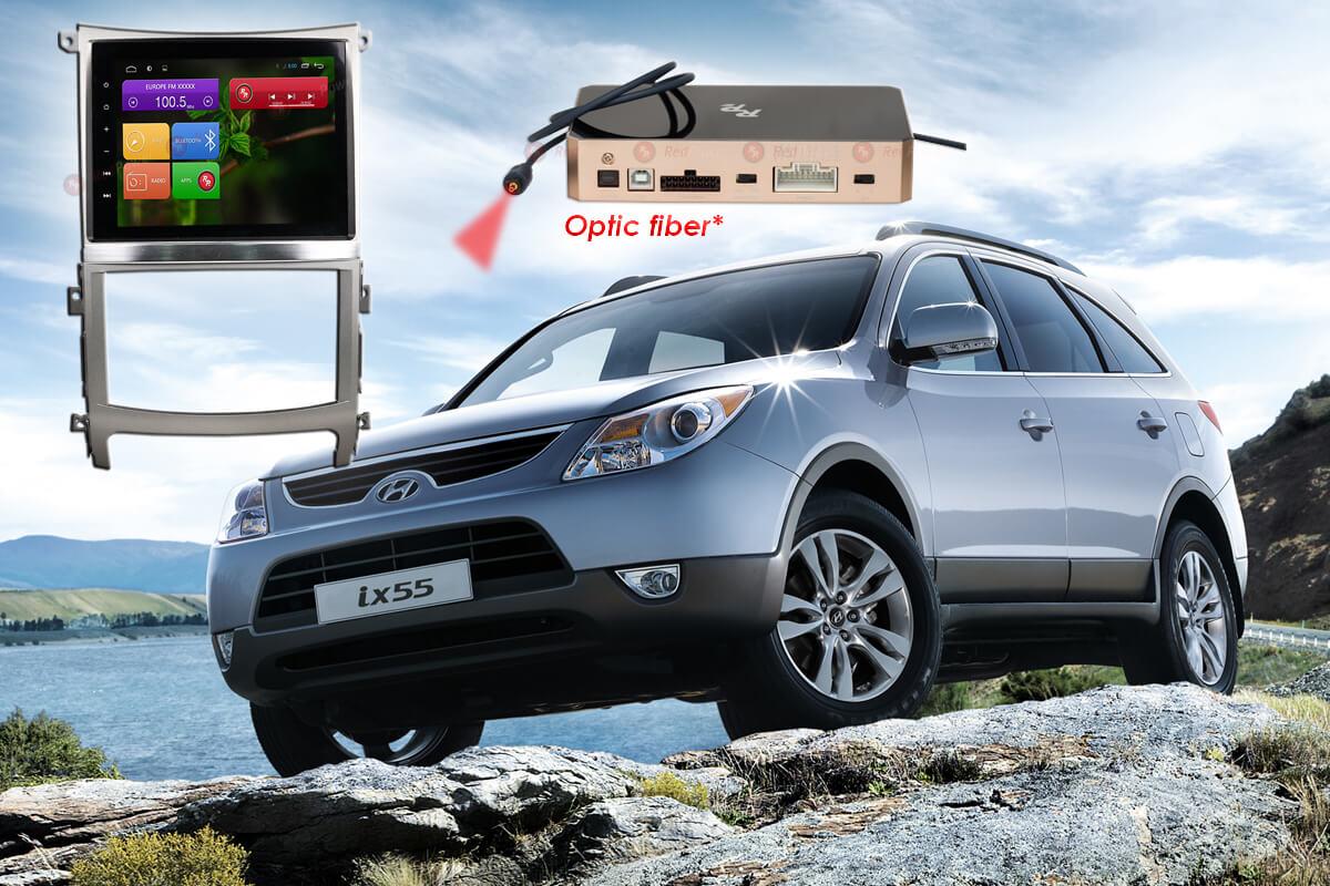 Штатное головное устройство Hyundai IX55 Redpower 31197 автомагнитола android