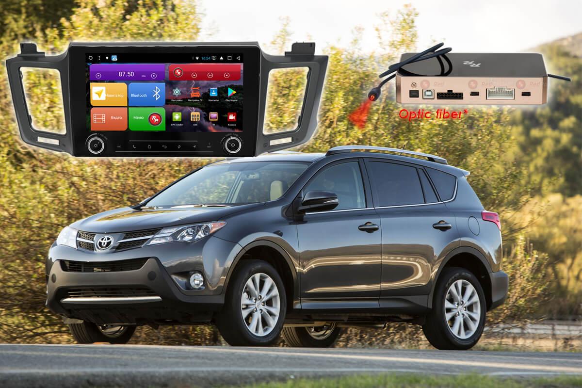 Магнитола Toyota Rav4 2012+ автомагнитола Redpower K 31017 R IPS DSP Android