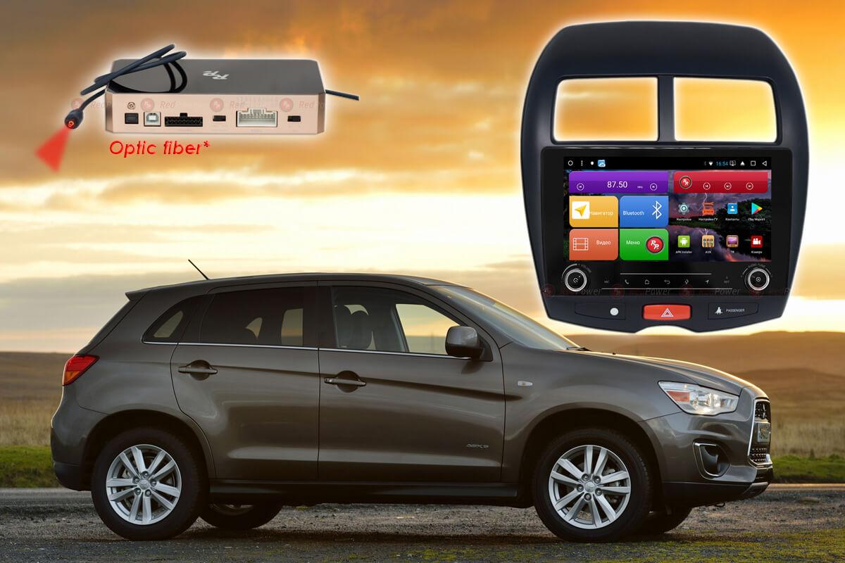 Штатное головное устройство Mitsubishi ASX автомагнитола Redpower K 31026 R IPS DSP Android