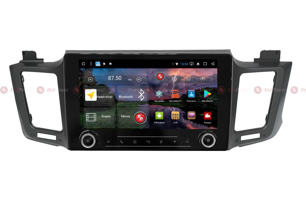 Магнитола Тойота РАВ4 2012+ автомагнитола Redpower K 31017 R IPS DSP Android
