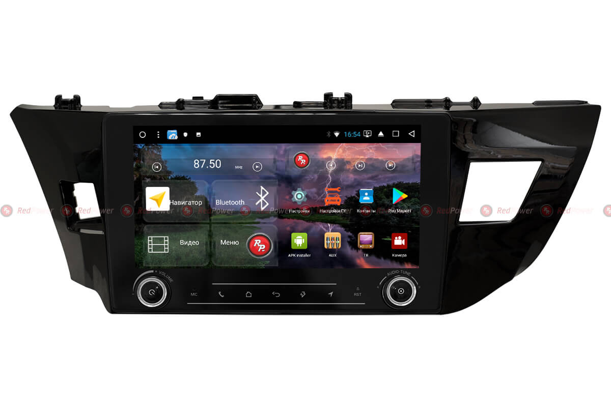 Головное устройство RedPower K 31066 R IPS DSP на Toyota Corolla