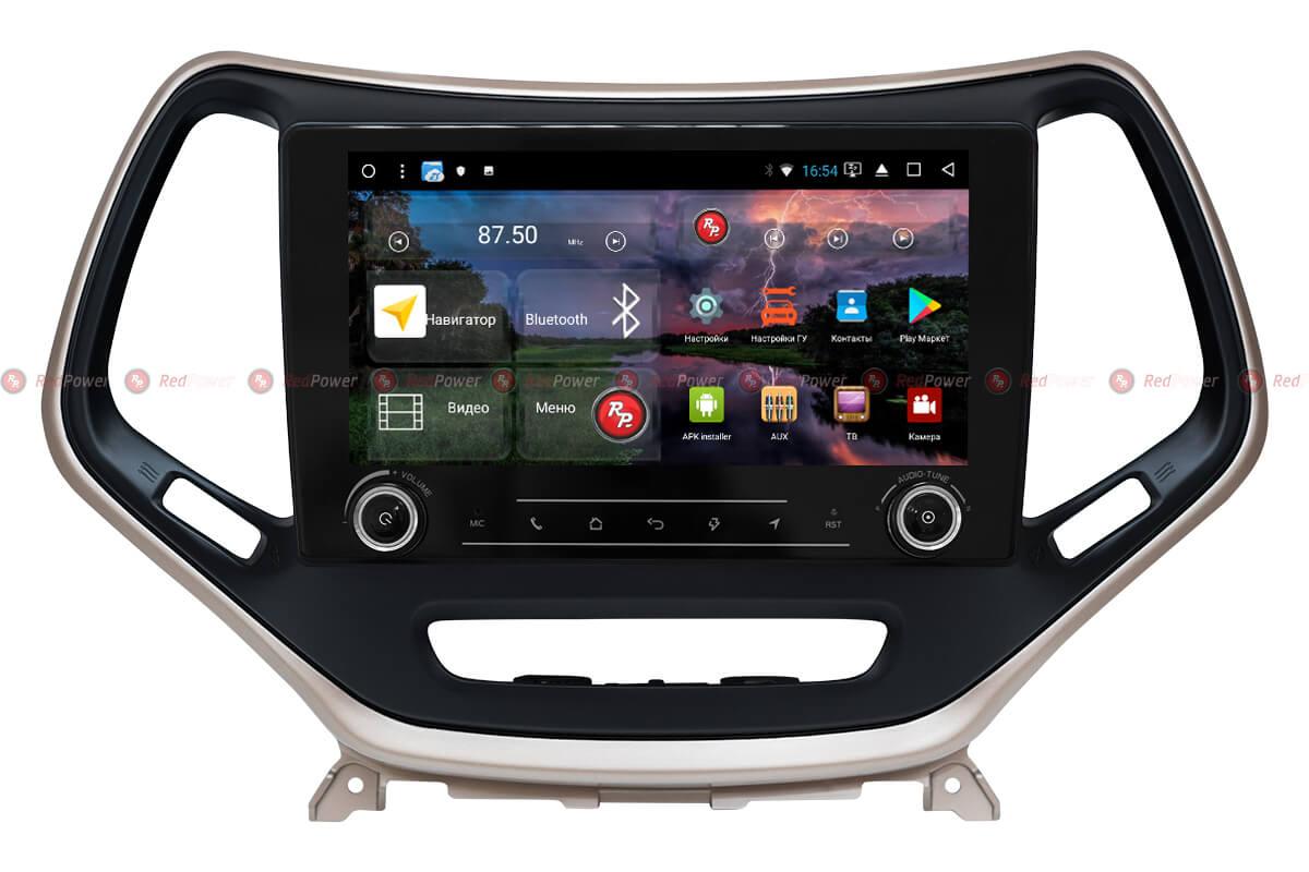 Штатное головное устройство Jeep Cherokee автомагнитола Redpower K 51215 R IPS DSP Android