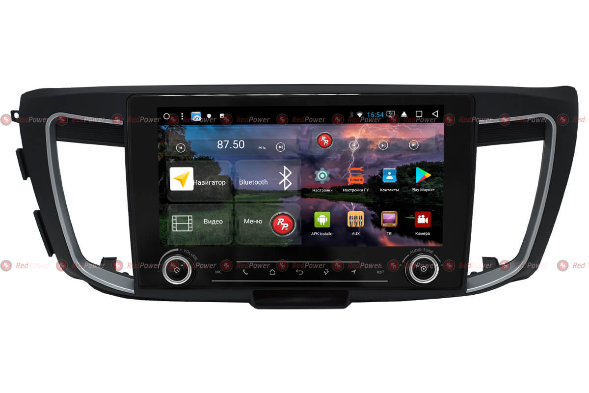 Головное устройство RedPower K 31690 R IPS DSP Honda Accord 9