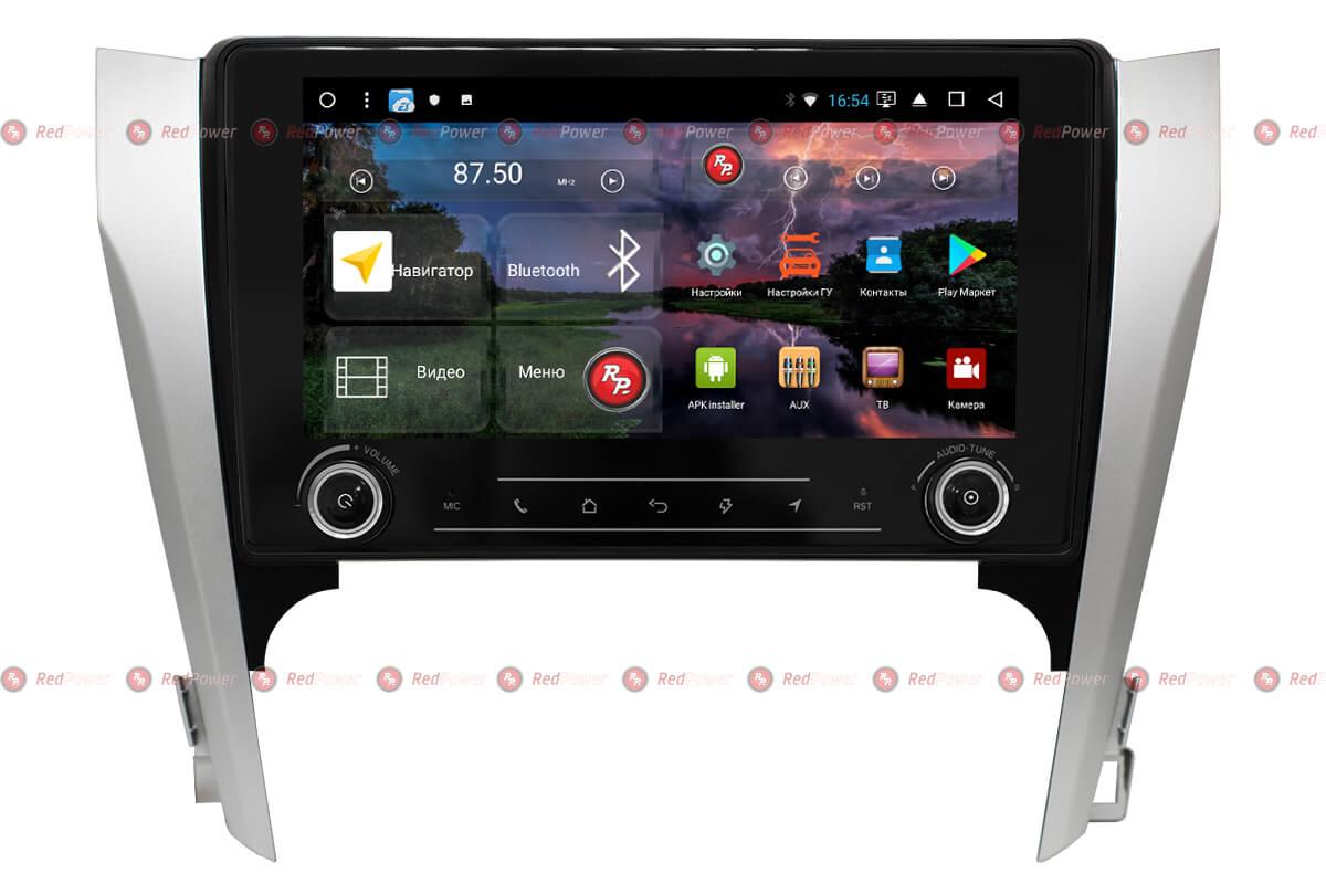 Головное устройство RedPower K 51131 R IPS DSP на Toyota Camry V50