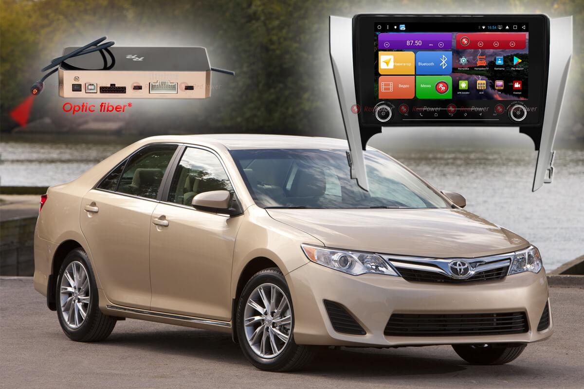 Штатное головное устройство Toyota Camry V50 автомагнитола Redpower K 51131 R IPS DSP android
