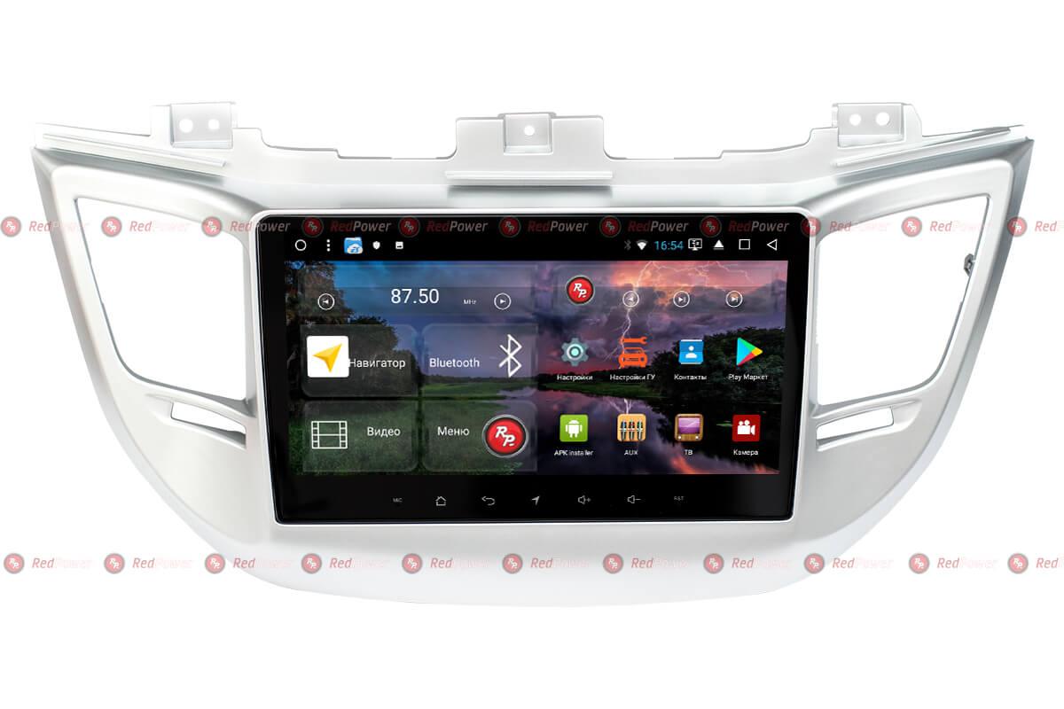 Головное устройство RedPower K 51147 R IPS DSP Hyundai Tucson