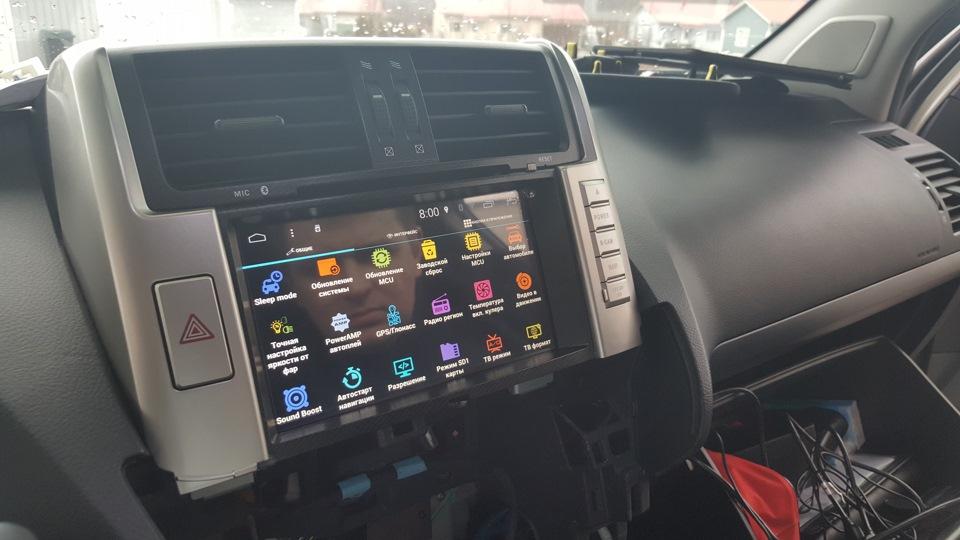 Автомагнитола для Тойота Прадо 150 RedPower 31065 IPS