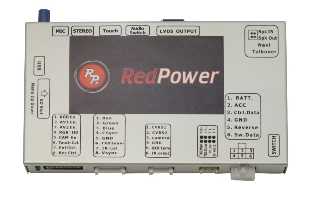 Навигационный блок Redpower AndroidBox VAG2 (Volkswagen MIB2 2015+) под заказ