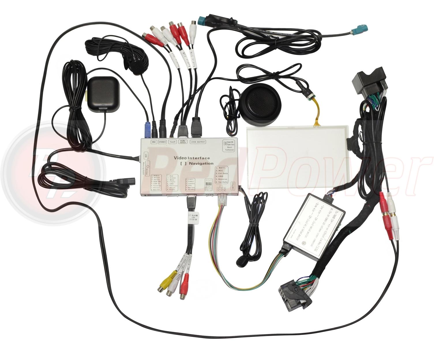 Навигационный блок для Mercedes с системой NTG