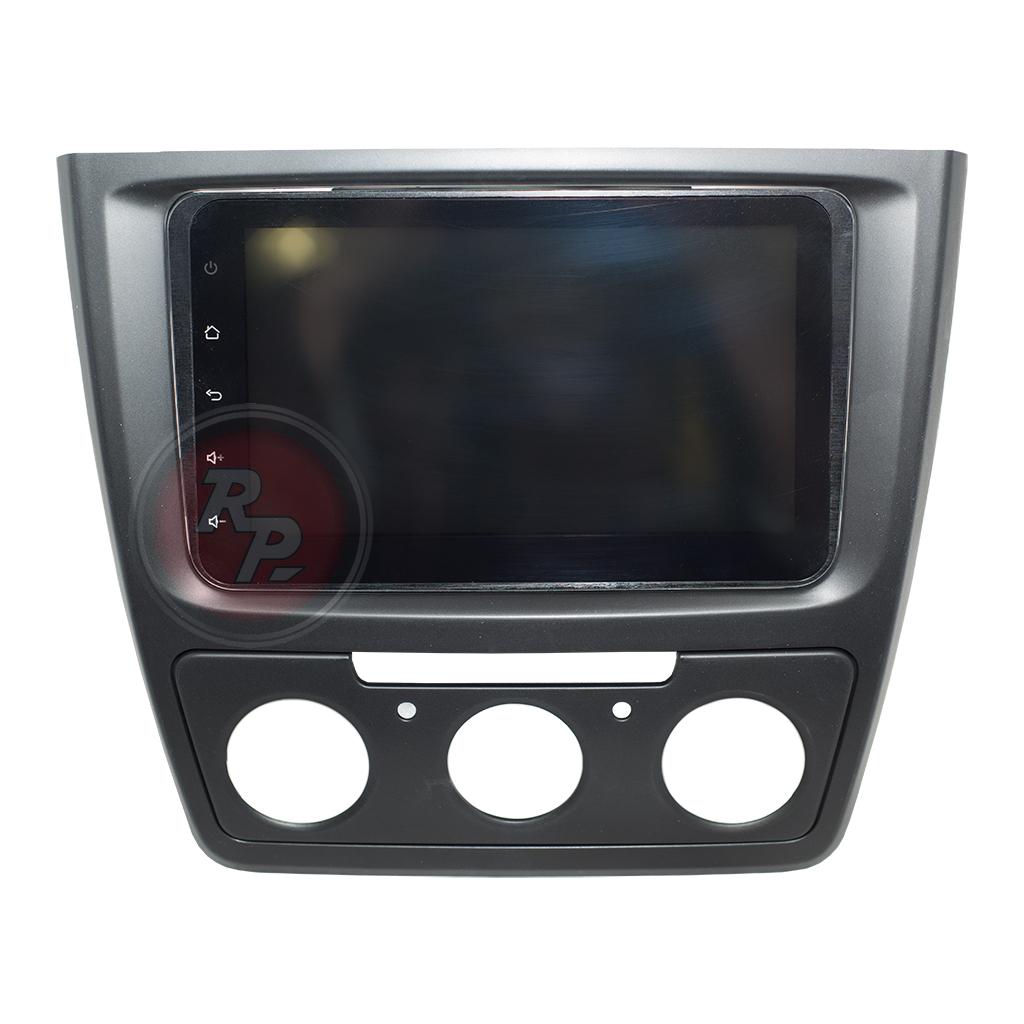Переходная рамка RP25 с универсальным головным устройством RedPower на Skoda