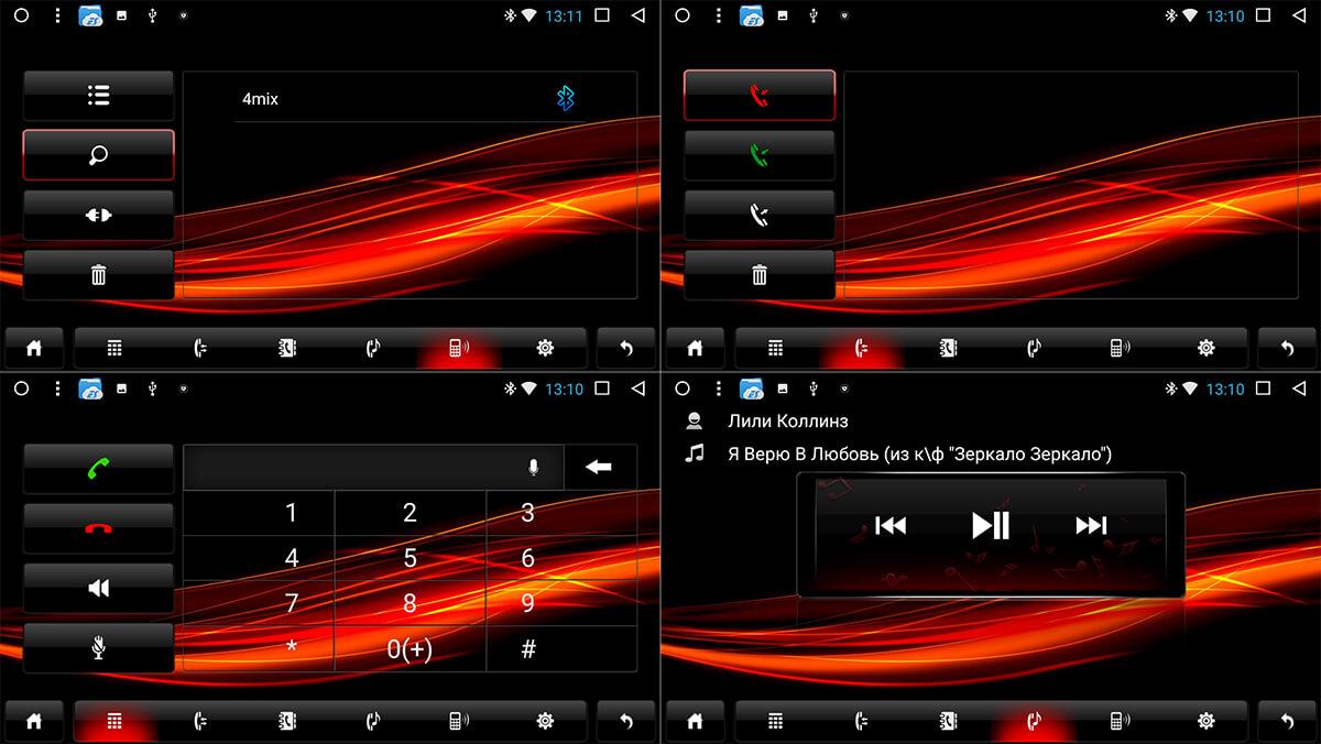 Режим работы Bluetooth