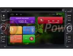Головное устройство на Nissan RedPower 21001 2din