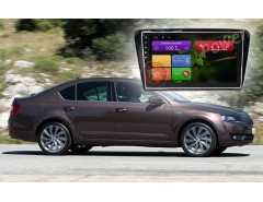 Штатное головное устройство Skoda A7 автомагнитола Redpower 21007B IPS android
