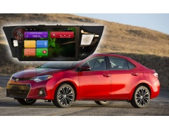Штатное головное устройство Toyota Corolla автомагнитола Redpower 21066B android