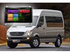 Штатное головное устройство Vito Viano Crafter, Mercedes автомагнитола Redpower 21068B IPS