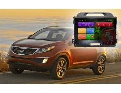 Штатное головное устройство Kia Sportage R2 R3 R1 автомагнитола Redpower 21074B Android