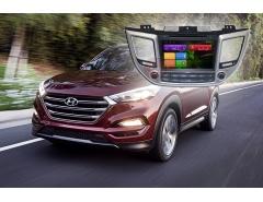Штатное головное устройство Hyundai tucson автомагнитола Redpower 21147b