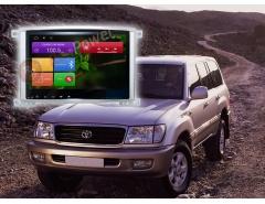 Штатное головное устройство Toyota Land Cruiser 100 автомагнитола redpower 21383B