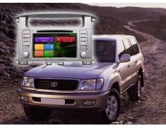 Штатное головное устройство Toyota Land Cruiser 100, Lexus 470 автомагнитола Redpower 21183 android