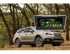 Штатная автомагнитола RedPower 21563B на Subaru Outback, навигация, Android