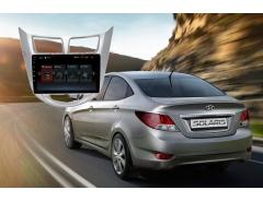 Штатное головное устройство Hyundai Solaris Redpower 30067 IPS автомагнитола android