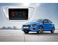 Штатное головное устройство Hyundai Solaris Redpower 30167 IPS автомагнитола android