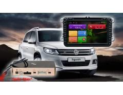 Штатное головное устройство Volkswagen Skoda автомагнитола Redpower 31004 DVD IPS
