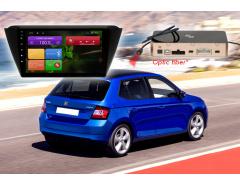 Штатное головное устройство Шкода Фабиа Redpower 31015 R IPS автомагнитола android