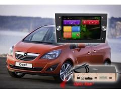 Штатное головное устройство Opel черный цвет, автомагнитола Redpower 31019