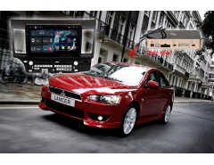 Штатное головное устройство Mitsubishi Lancer автомагнитола Redpower 31037 R IPS DSP android