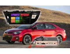 Штатное головное устройство Toyota Corolla автомагнитола Redpower 31066 R IPS android