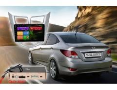 Штатное головное устройство Hyundai Solaris Redpower 31067 R IPS автомагнитола android