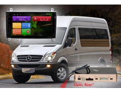 Штатное головное устройство Vito Viano Crafter, Mercedes автомагнитола Redpower 31068 IPS
