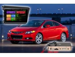 Штатное головное устройство Honda Civic автомагнитола Redpower 31132 R IPS Android