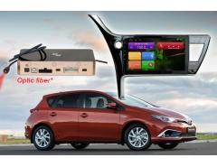 Штатное головное устройство Toyota Corolla автомагнитола Redpower 31166 R IPS android