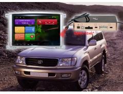Штатное головное устройство Toyota Land Cruiser 100 автомагнитола redpower 31183