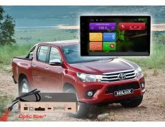 Штатное головное устройство для Toyota Hilux, Fortuner. RedPower 31186 IPS на Toyota Hilux 2015